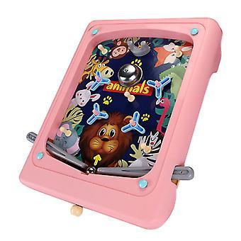 Handheld Children's Cartoon Pinball Game Machine Maze Ejection Score Machine