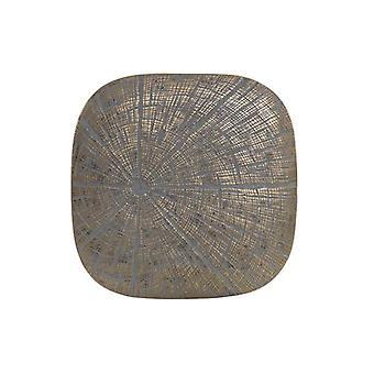 Seinäkoristeet Dekodonia Resin (31 x 4 x 31 cm)