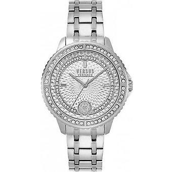 Versus by Versace Women's Watch Wristwatch Montorgueil VSPLM1019 Stainless Steel