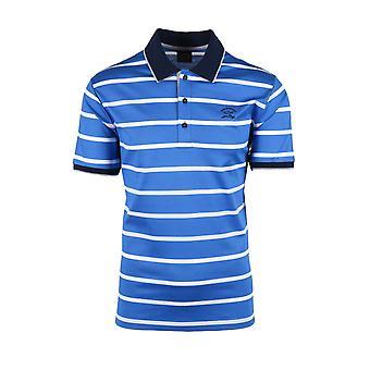 Paul & Shark Paul And Shark Polo Shirt Blue Stripe