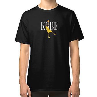 Kobe Bryant Emblematic Fadeaway White T shirt Basketball