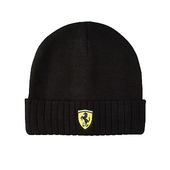 Scuderia Ferrari gorro de punto | | negro | adultos 2021