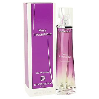 Very Irresistible aistillinen Eau De Parfum Spray By Givenchy 2.5 oz Eau De Parfum Spray