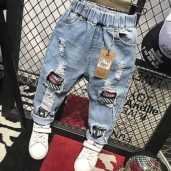 Kids Baby Jeans, Pants, Toddler Clothing (sete-1)