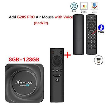 X88 pro 20 tv box android 11 8 Go ram 64 Go 128 Go 4 Go 32 Go rockchip rk3566 support google assistant youtube x88pro media player