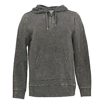 Koolaburra by UGG Women's Sweater Vintage Wash French Terry Gray A386470