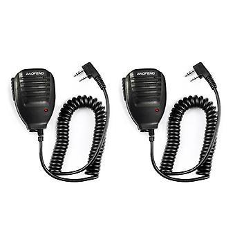 Taşınabilir Radyo Uv-5r Bf-888s Bf-uvb3 için Uv5r El Mikrofon Hoparlör Mikrofonu