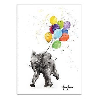 Art-Poster - Elephant freedom - Ashvin Harrison