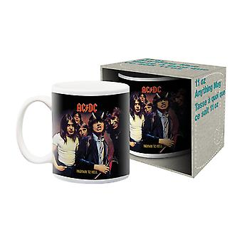 Acdc - highway to hell ceramic mug