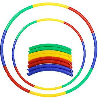 Children's hula hoop 8-piece hip massage sports fitness gymnastics toys