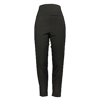 Cuddl Duds Kvinders Leggings Reg Flexwear Polyester Sort A391311