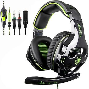 FengChun SA810 Stereo Gaming Headset für PS4, PC, Neue Xbox One, Noise Cancelling über Ohr Kopfhörer