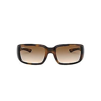 Ray-Ban 0RB4338 Solbriller, Havana Clare, 59 Unisex-Voksen