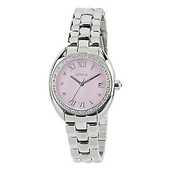 BREIL WOMEN'S WATCH CLARIDGE DIAL MOTHER OF PEARL PINK MOVEMENT ONLY TIME - 3H KVARTS OCH STÅLARMBAND TW1699