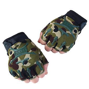 Half-finger Camouflage Gloves