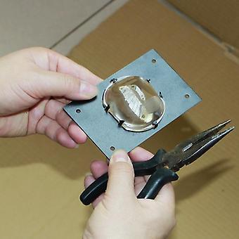 Diy Projektor Kwadratowy obiektyw skraplacza ze stojakiem dedykowany kwadrat skraplacza