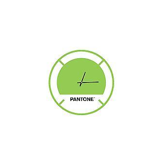 PANTONE Drive Klocka i grönt, vitt, svart, metall L40xP0.15xA40 cm