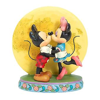 Disney Traditions Mickey and Minnie Mouse 'Magic and Moonlight' Figurine