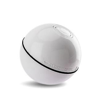 White electric pet cat supplies led luminous random ball usb charging laser funny cat ball x2759