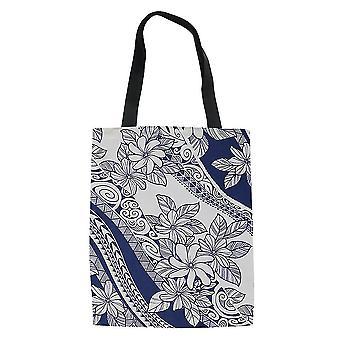 Uusi polynesialainen etninen ruokakaupan laukku Naisten ostoskassi Kannettava ES9218
