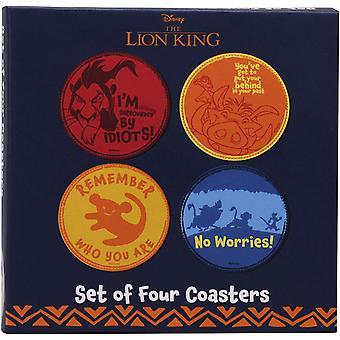 Disney's The Lion King Coasters (Set of 4)
