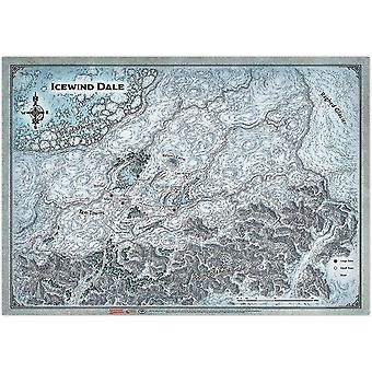 Dungeons & Dragons Icewind Dale Map - (31'x21')