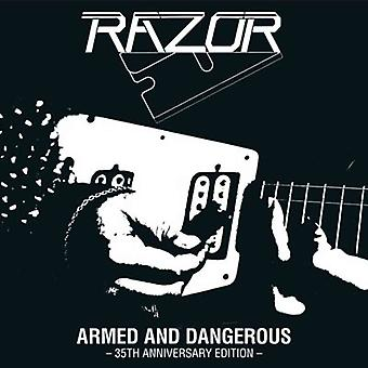 Razor - Armed and Dangerous 35th Anniversary Edition Vinyl