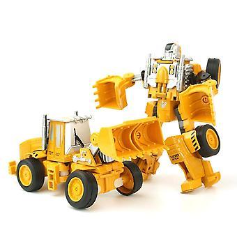 Deformasjon Gaffeltruck Leker King Kong Hercules Legering Bil Kombinasjon Robot
