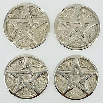Pentagram Cone Plate (Pack of 4)