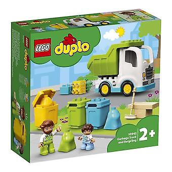 Playset Duplo Garbage Truck and Recycling Lego 10945 (19 pcs)