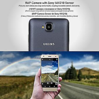 Uhans H5000 4g 1.25ghz Quad-Core 3gb Ram + 32gb Rom Dual Kamera Smartphone