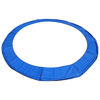 Cubierta de resorte de trampolín 395-405 cm 13Ft - azul - cubierta de borde