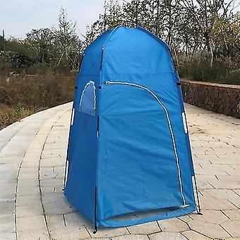 야외 캠핑 하이킹 낚시 하우스를위한 여름 전용 샤워 텐트 (파란색)