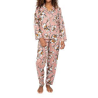 Cyberjammies Nora Rose Audrey 1548 Dame Rosa Skog Bomull Pyjamas Sett