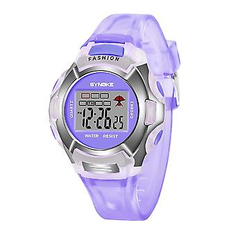 Детские светодиодные цифровые спортивные часы