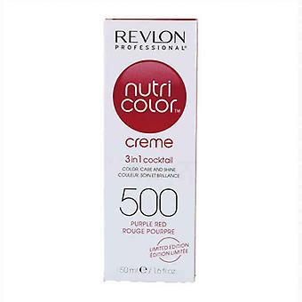 permanent farge nutri farge revlon 500 rød lilla (50 ml)