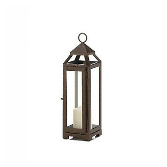 Gallery of Light Speckled Copper Candle Lantern - 13 inches, Pack of 1