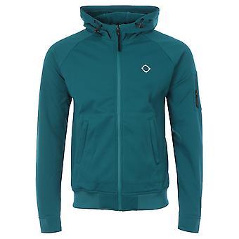 MA.Strum Tech Fleece Zip Hooded Sweatshirt - Teal