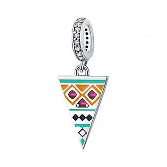 Sterling Silver Pendant Charm Triangle - 7149