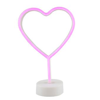 Lampe au néon Led, coeur