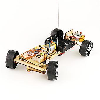 Puzzle electrice de control de la distanță Robot car invenție științifică jucărie