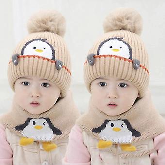 Lastenhatut ovat söpöjä ja erittäin söpöjä talvella vauvan villahatut pojille ja tytöille paksuuntumaan ja pitämään lämpimänä