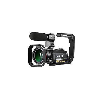 4k-videokamera Vlogging-kamera Youtubeen Ordro Ac3 4k Videokamera 1080p Ir Night Vision Wi-Fi-kameran tallennin Digitaaliset videokamerat mikrofonin levyllä