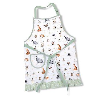 Pimpernel Wrendale Designs The Country Set Cotton Drill Apron