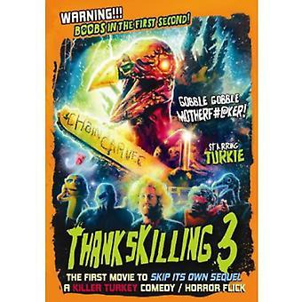 Thankskilling 3 [DVD] USA import