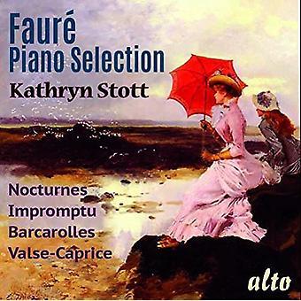 Kathryn Stott (Piano) - Faure: Piano Selection [CD] USA import
