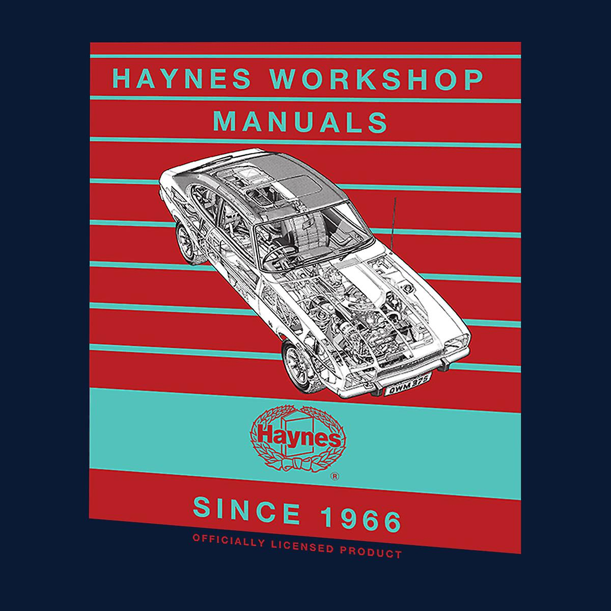 Haynes taller Manual 0375 Ford Capri II V6 raya Varsity chaqueta de