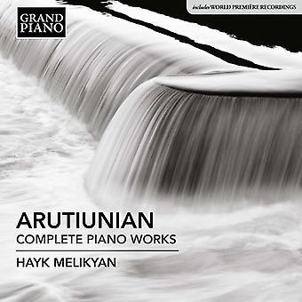 Arutiunian / Melikyan - Alexander Arutiunian: Complete Piano Works [CD] USA import