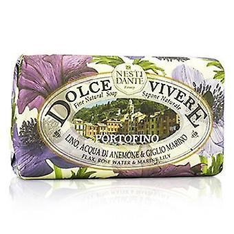 Dante के Nesti डोल्से Vivere ललित प्राकृतिक साबुन - Portofino - सन गुलाब जल और समुद्री लिली - 250 जी / 8.8 ऑउंस