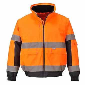 Portwest - Hi-Vis Safety Workwear 2-in-1 Jacket